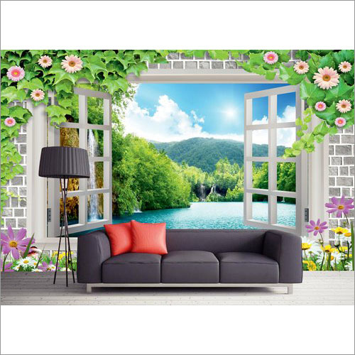 LIving Room Designer Wallpaper
