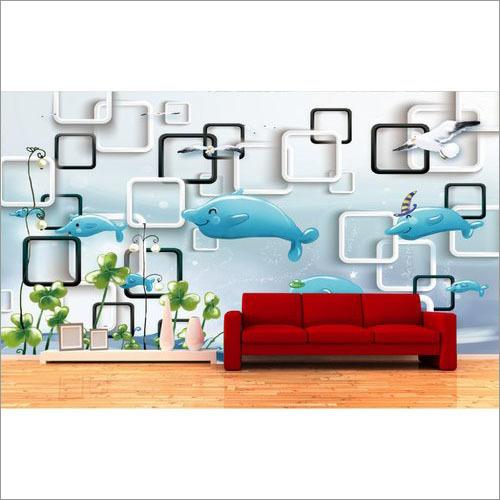 3D Digital Printed Wallpaper