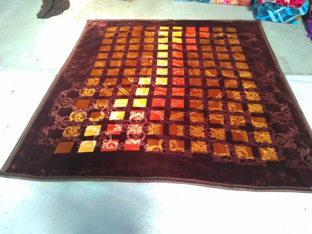 Zig Zag Mink Blankets
