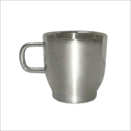 SS Cherry Plain Mug Double Wall