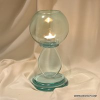 SMALL PILLAR T LIGHT CANDLE HOLDER