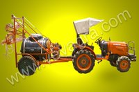 Tractor drawn sprayer pump