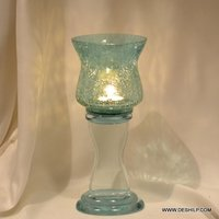 CREAK GLASS COLORFUL PILLAR CANDLE