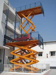Highrise Scissor Car Lift