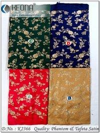 Zari Work Embroidery Fabric