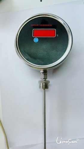 Smart Temp Transmitter With Gauge