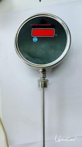 Smart Temp Transmitter With Gauge