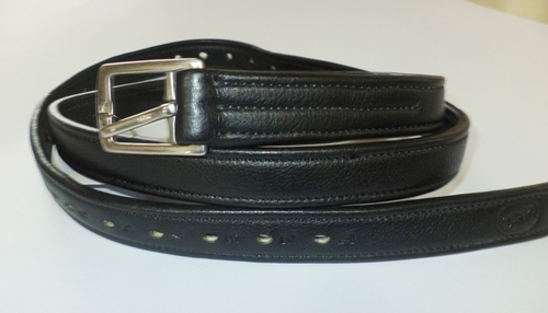 Leather stirrup covered with PP inside