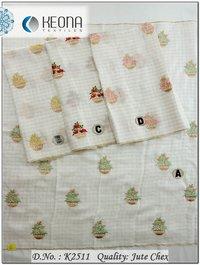Butta Work Embroidery Fabric