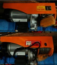 PA 500 PA600 PA800 PA1000 High Quality Mini Electric Hoist Best Selling