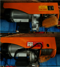 Best Selling High Quality PA Mini Electric Hoist PA1000 PA500 PA600 PA800