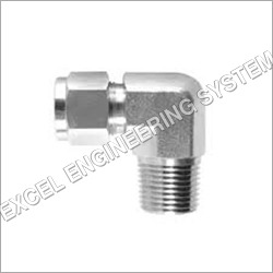 SS Male Elbow Fitting