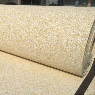 Tuv Non-Toxic Soft Rubber Mat Outdoor Court Ground Floor