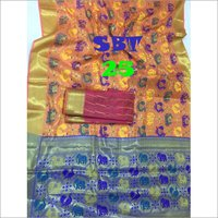 WOMEN'S IKKAT WORK SAREE