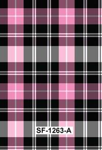Checks & Stripes Printed Fabric