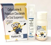 Cefpodoxime & Potassium Clavunate Oral Suspension IP