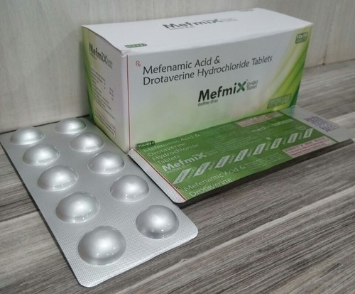 Mefenamic 250mg + Drotaverin 10mg