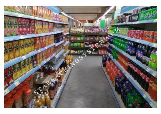 Multiple Layers Supermarket Display Racks