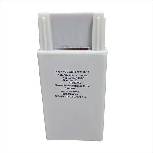 High Voltage Pulse Capacitor 40kV 0.3uF 300nF