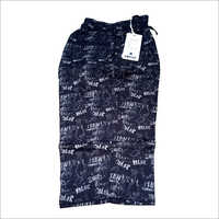 Mens Printed Capri