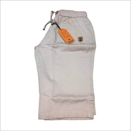 Mens Plain Cotton Short