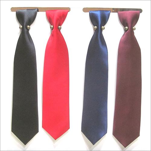 Micro Solid Plain Tie