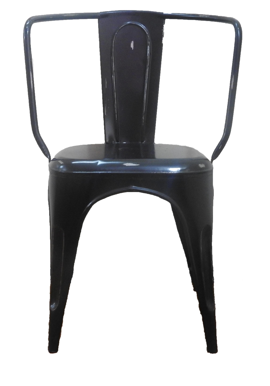 Iron Blue Chair