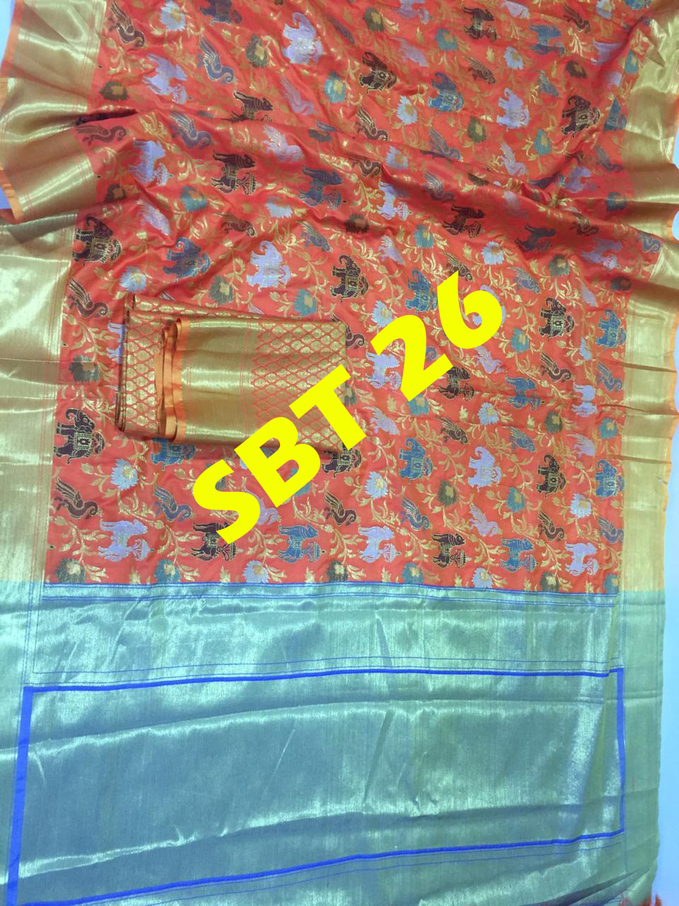 Women's silk saree