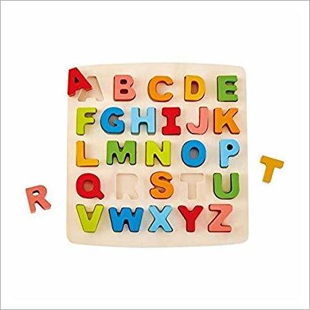 Multi Colour Wooden Alphabet Puzzle