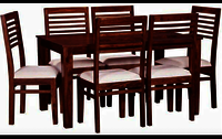 6 Seat Dining Table Set