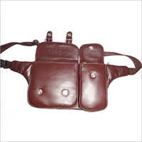 Leather Waist Tool Bag