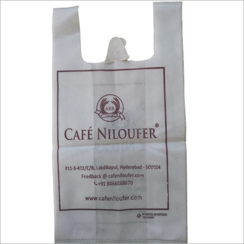 Printed Non Woven W Cut Carry Bag