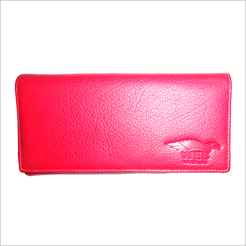 Ladies Red Leather Wallet