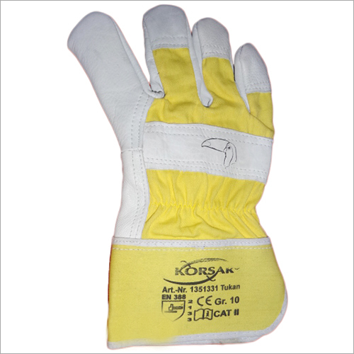 Leather Grain Driving Glove