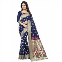 Heavy Silk Saree With Rich Pallu