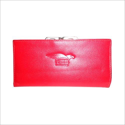 Ladies Leather Clutch