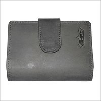 Mens Leather Three Foldable Wallet