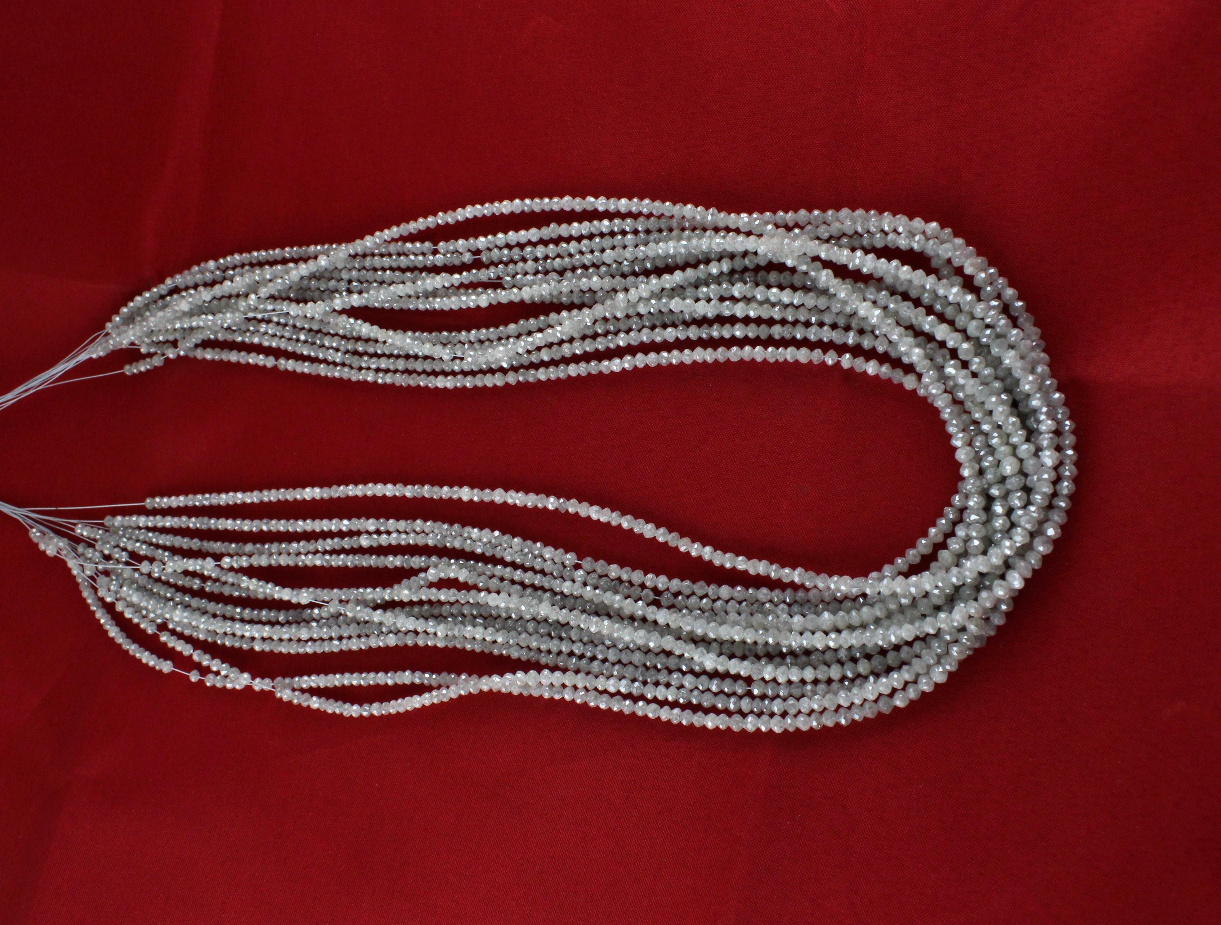 White Diamond Beads
