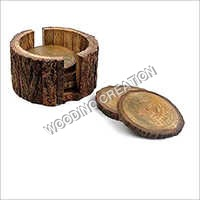 Wooden Tea Coaster