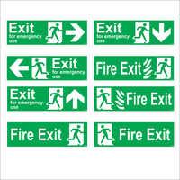 Exit Signages