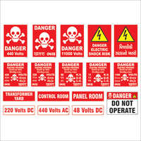 Electrical Safety Signages