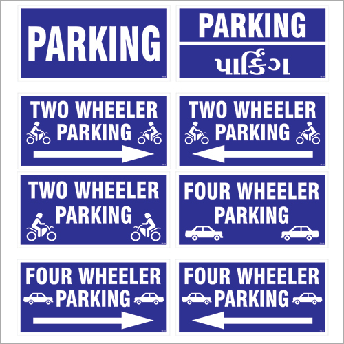 Commercial Parking Signages