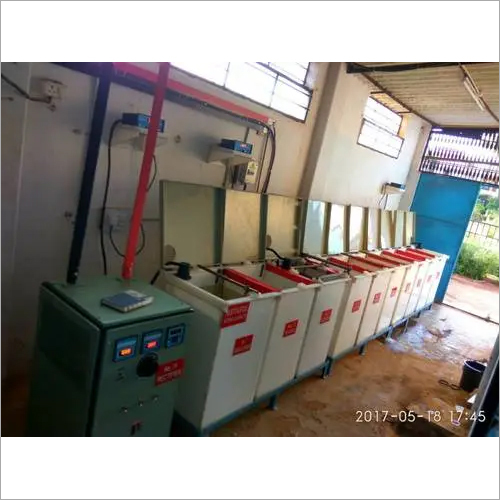 Semi Manual Wet Type Plating Line