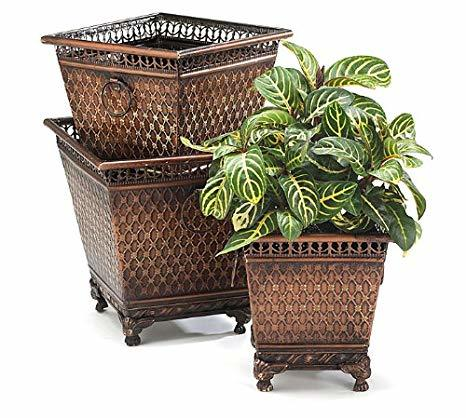 Iron Decorative Planter