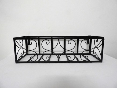Railing Iron Planter
