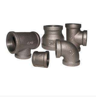 Kanaif Malleable Iron Fittings FM UL Approved Banded Black Pipe Fittings