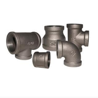 Expoxy Power:Red Kanaif Malleable Iron Fittings Fm Ul Approved Banded Black Pipe Fittings