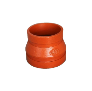 Ductile Iron Concentric Reducer Reducing Coupling FM UL Approved Fire Protection System