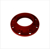 Ductile Iron Grooved Flange Adaptor FM UL Approved Fire Protection System