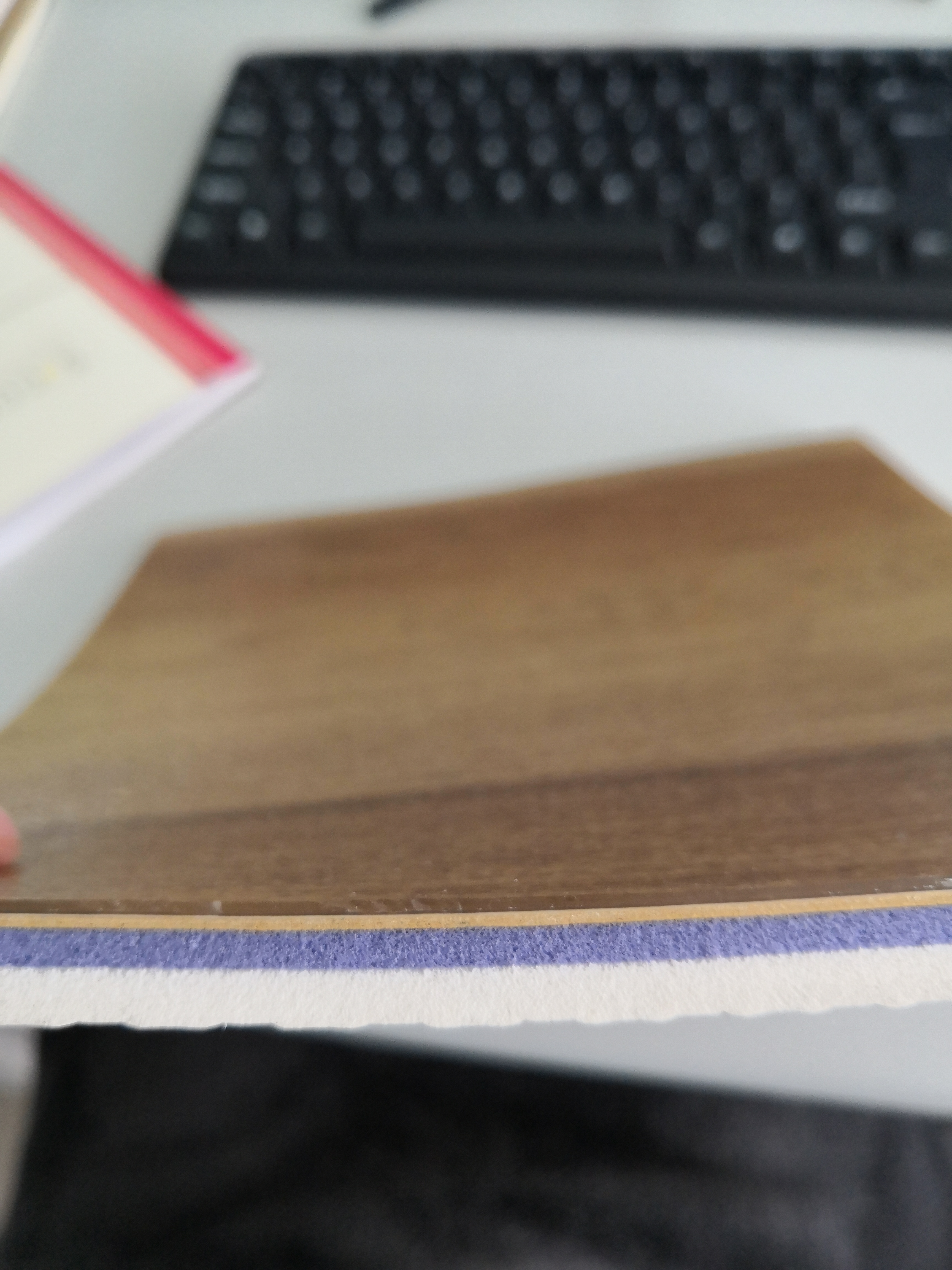BWF 8.0mm wood surface sports floor